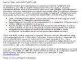 Sample Cover Letter for Information Technology Job Information Technology Cover Letter