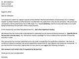 Sample Cover Letter for Novel Submission Sample Cover Letter for Journal Article Submission