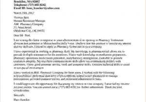 Sample Cover Letter for Pharmacy Technician Job 3 Pharmacy Technician Cover Letter No Experiencereport