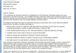 Sample Cover Letter for Pharmacy Technician Job Cover Letter Pharmacy Technician Resume Downloads