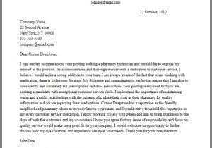 Sample Cover Letter for Pharmacy Technician Job Professional Pharmacy Technician Cover Letter Sample