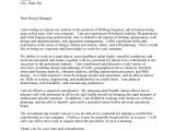 Sample Cover Letters for Engineers Engineering the Perfect Cover Letter