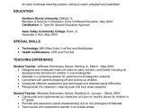 Sample Education Resume Early Childhood Education Resume Samples Sample Resumes