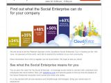 Sample Email Blast Template 7 Examples Of Successful Email Templates A Case Study