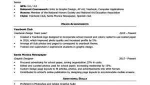 Sample High School Resume High School Resume Template Writing Tips Resume Companion