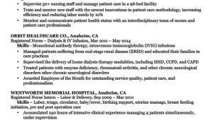 Sample Nursing Resume Registered Nurse Rn Resume Sample Tips Resume Companion