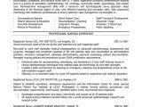 Sample Nursing Resume Templates Nurse Resume Services and Rates