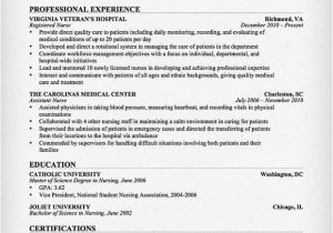 Sample Nursing Resume Templates Nursing Resume Sample Writing Guide Resume Genius