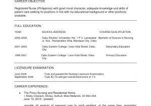 Sample Nursing Resume Templates Resume Nurses Sample Sample Resumes