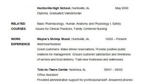 Sample Nursing Student Resume 36 Student Resume Templates Pdf Doc Free Premium