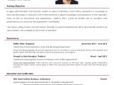 Sample Objective In Resume for Hotel and Restaurant Management Sample Resume for Hotel and Restaurant Management