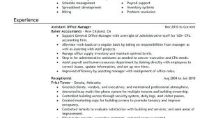 Sample Objectives In Resume for Office Staff Sample Resume for Office assistant Position Foodcity Me