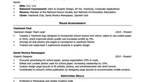 Sample Of A Resume for A Highschool Student High School Resume Template Writing Tips Resume Companion