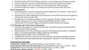 Sample Of Good Resume Resume Templates Free Resumes