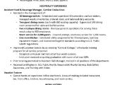 Sample Of Objectives In Resume for Hotel and Restaurant Management Resume Sample Hotel Management Trainee