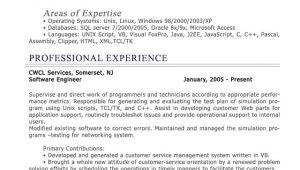 Sample Of Professional Resume Professional Level Resume Samples Resumesplanet Com