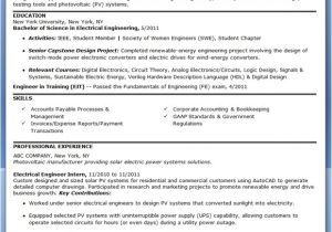 Sample Of Resume for Electrical Engineer Electrical Engineer Resume Sample Pdf Entry Level