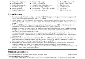 Sample Of Resume for Electrical Engineer Perfect Electrical Engineer Resume Sample 2016 Resume