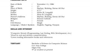 Sample Of Resume for Working Student Resume Sample format for Working Students Listmachinepro Com
