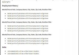 Sample Of Resume Template Free Resume Samples Download Sample Resumes
