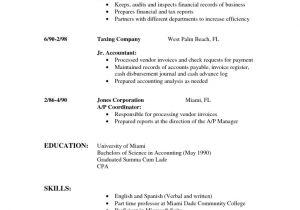 Sample Of Resume Template Sample Of Simple Resume Sample Resumes