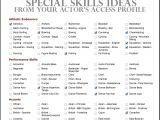 Sample Of Special Skills In Resume Special Skills On Resume the Best Resume