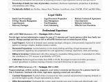 Sample Paralegal Resume Paralegal Resume Sample Monster Com