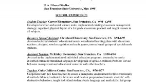 Sample Profile for Teacher Resume Teacher Profile Resume Bongdaao Com