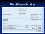 Sample Remittance Advice Template 12 Remittance Templates Excel Pdf formats