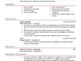 Sample Resume Examples Free Professional Resume Templates Livecareer