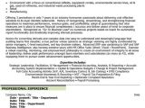 Sample Resume Financial Controller Position Chief Financial Officer Resume Sample Template