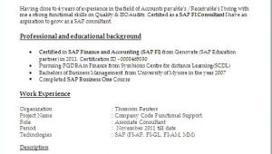 Sample Resume for 2 Years Experience In Net Sample Resume for 2 Years Experience In Net New Sap Bi