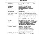 Sample Resume for A Teacher Position Sample Resume for Teaching Position Sample Resumes
