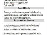 Sample Resume for Air Hostess Fresher 42 Professional Fresher Resumes Sample Templates