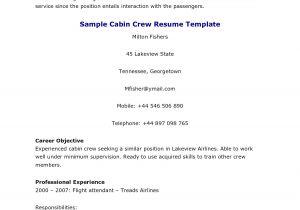 Sample Resume for Air Hostess Fresher Resume for Cabin Crew Fresher Resume Ideas