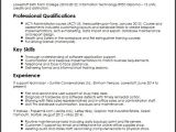 Sample Resume for Application Support Analyst Application Support Analyst Cv Sample Myperfectcv
