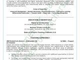 Sample Resume for Art and Craft Teacher Art Teacher Resume Sample