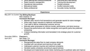 Sample Resume for assistant Manager In Retail assistant Retail Manager Resume Examples Free to Try