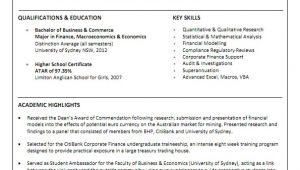 Sample Resume for Australian Jobs Resume Sample Australia Best Resume Gallery