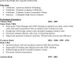 Sample Resume for Bank Teller at Entry Level Entry Level Investment Banking Resume Annecarolynbird