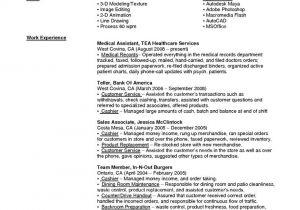 Sample Resume for Bank Teller at Entry Level How to Write Of Bank Teller Resume Sample