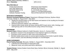 Sample Resume for Biology Major Biologist Resume Sample Best Resume Gallery