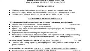 Sample Resume for Biology Major Biology Resume Sample Best Professional Resumes Letters