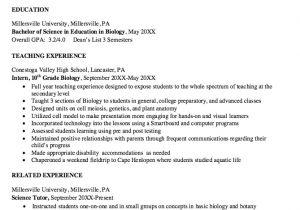 Sample Resume for Biology Major Download Biology Resume Ajrhinestonejewelry Com