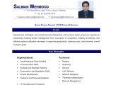 Sample Resume for Ccna Certified Salman Mahmood Resume