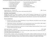 Sample Resume for Costco Robert Wolfe Resume