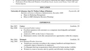 Sample Resume for Costco Taylor Whitt Resume Revised