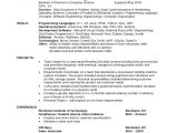 Sample Resume for Cse Students 8 Sample Computer Science Resumes Sample Templates