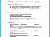 Sample Resume for Culinary Arts Student Excellent Culinary Resume Samples to Help You Approved