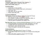 Sample Resume for Culinary Arts Student Resume Samples Career Connoisseur